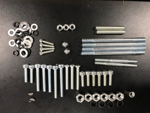 Complete fastner Kit;  for 66cc SkyHawk engines.
