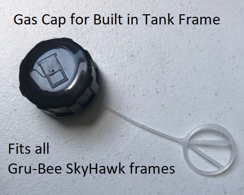 Gas Tank Cap for built in tank bike frame