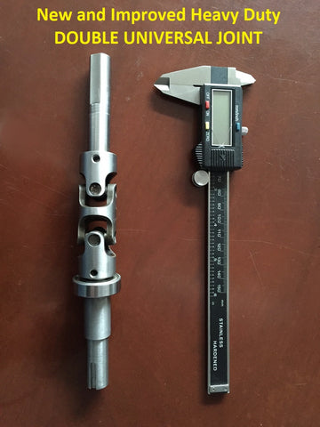 New and improved Double Universal Joint Jackshaft