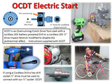 66cc Gt5A-ES - Pedal and Electric Drill Start Engine w/ OCDT