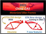 "GT4A  4"" Fat tire built in tank frame - Coming in 2021"