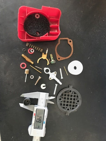 Speed carb repair kit