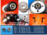 4G- 1A Transmission and INSTALLATION KIT for 49/53cc Huashang