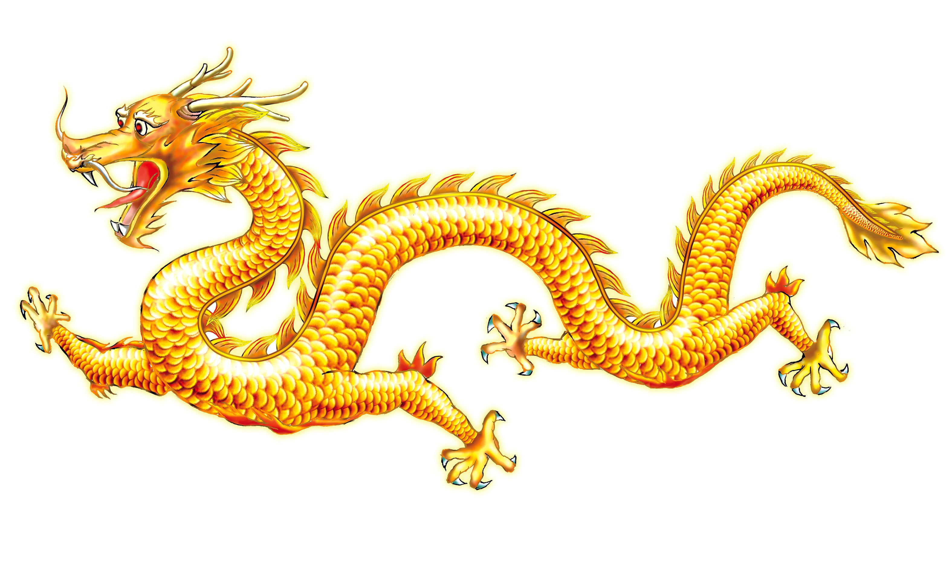Dragon Decal for Black Gas tank;
