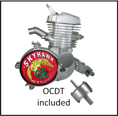 SkyHawk 66cc Gt5A-ES Engine & OCDT - Pedal & Electric Start = FREE SHIPPING