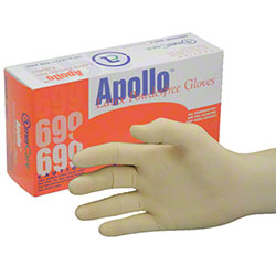 LATEX PF GLOVE MEDIUM (699-2) 100/BX ** OSHA PPE **