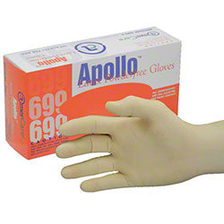 LATEX PF GLOVE LRG 100/BX ** OSHA PPE **