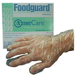 DISPOSAL FOOD SVC GLOVE (399) 10/PGK 100/BX ** OSHA PPE **