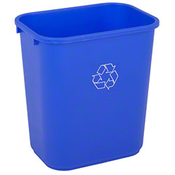 COMMERCIAL MEDIUM BLUE DESKSIDE WE RECYCLE WSTBSKTS (2818-1) 12/CS