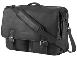 HP 14.0 Executive Leather Messenger