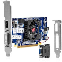 HP HD6350 512MB PCI-E 16X 1PORT 400MHZ AMD RADEON - UNTESTED, BOTH BRCKTS SFF/LFF - MasterWorks International