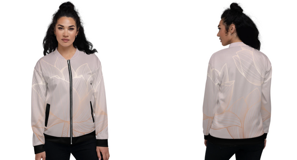 A Day in the Life of an Anjé Golden Lotus Bomber Jacket