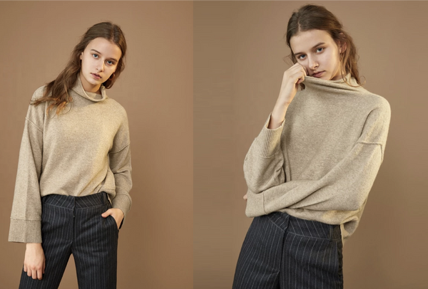 A Day in the Life of an Anjé Oversized Knit Pullover Sweater