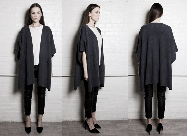 A Day in the Life of an Anjé Cashmere Poncho