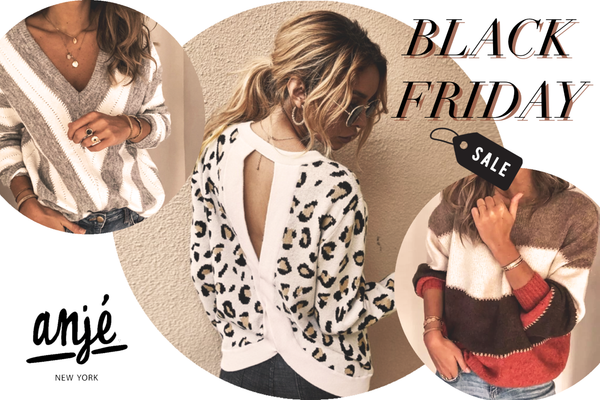 Black Friday Cyber Monday AND New Styles!