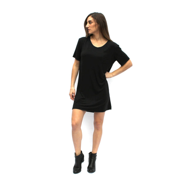 Modal Pocket Tee Dress