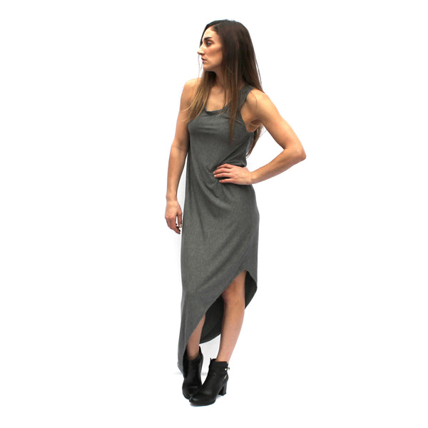 Modal Asymmetric Maxi Dress
