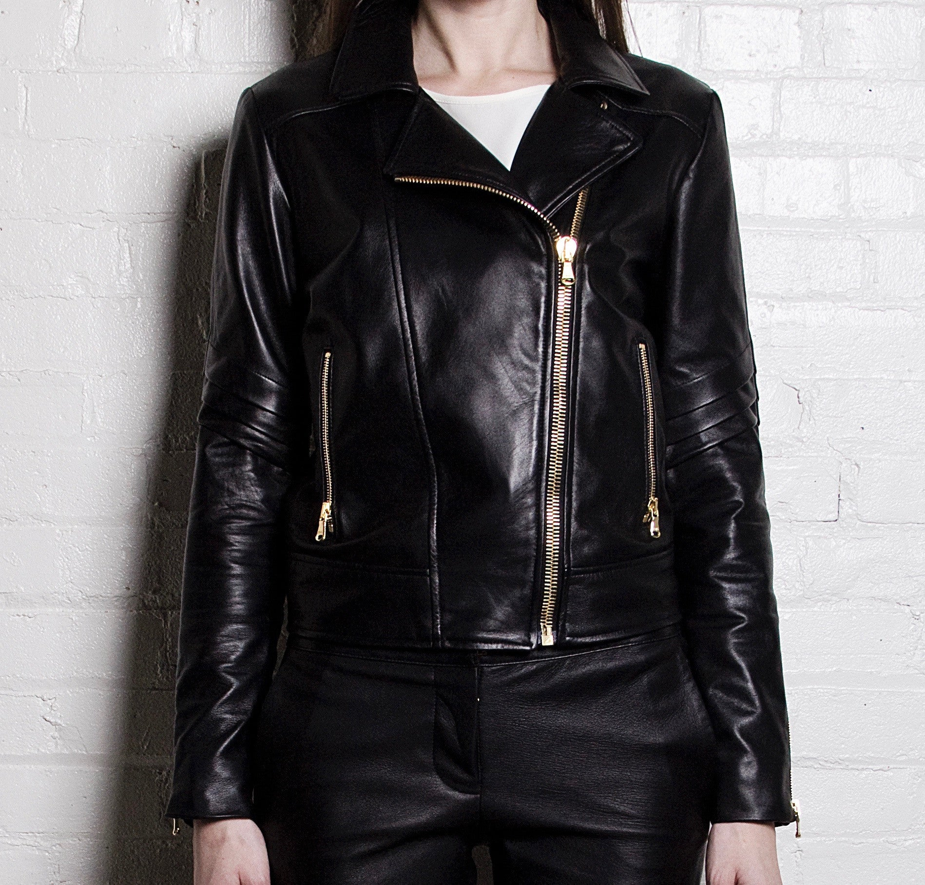 The Classic Leather Jacket