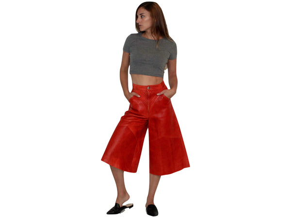 MARLI LEATHER CULOTTES