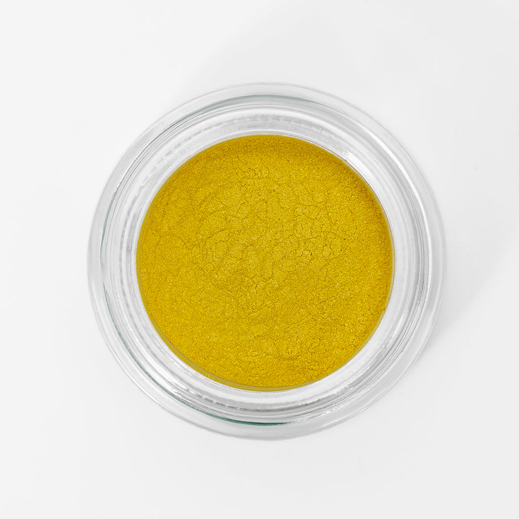 Stacey Pigment - Sparkly Yellow - Sample Beauty
