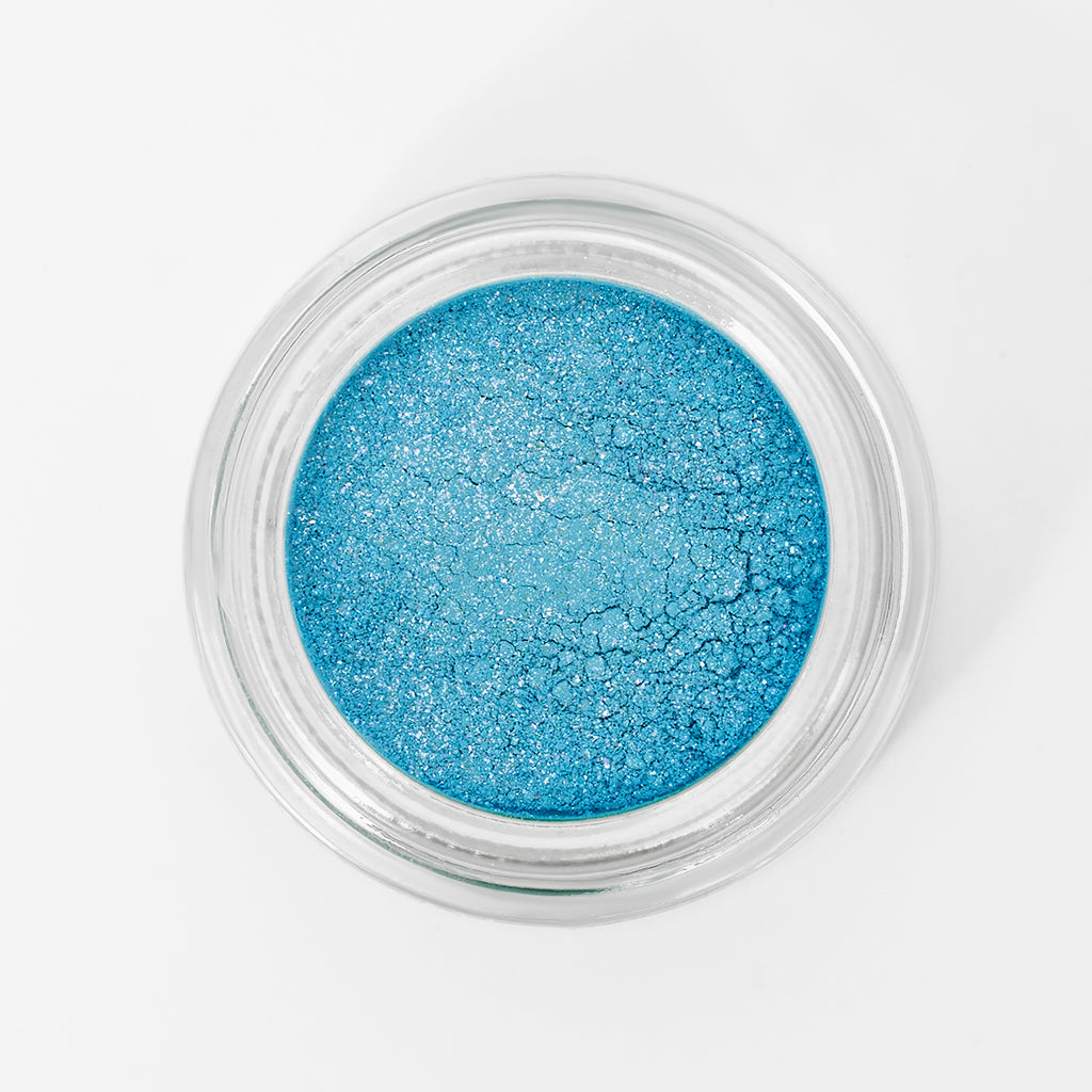 Brisk Pigment - Pastel Blue with Reflects - Sample Beauty