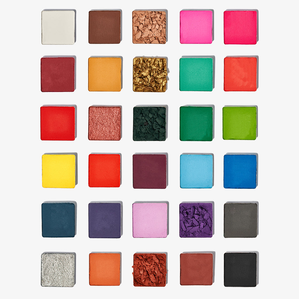 The Painter's Palette - Sample Beauty
