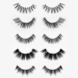 Vegan Synthetic Silk Lashes Set