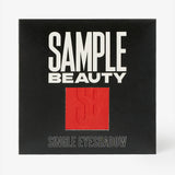 Cardinal Single Eyeshadow - Red Matte - Sample Beauty