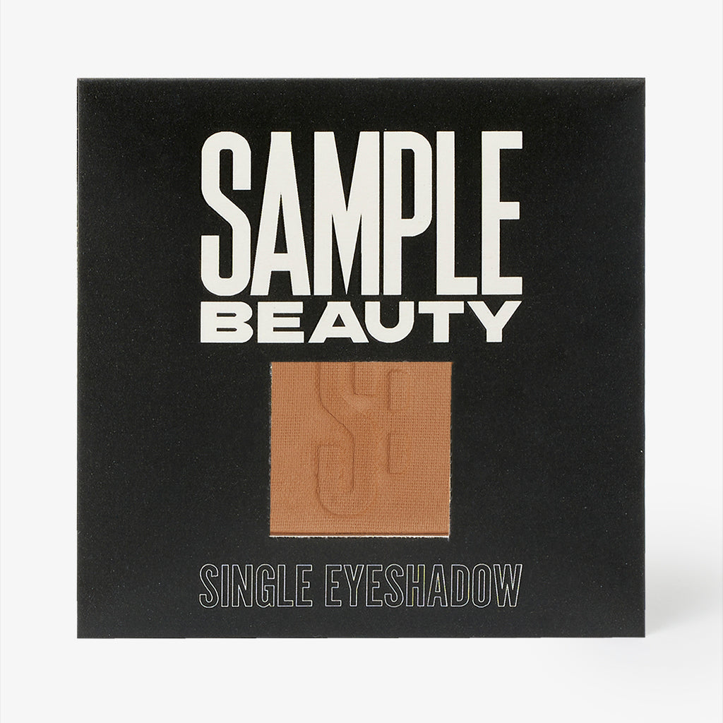 Camel Single Eyeshadow - Light Warm Brown Matte - Sample Beauty
