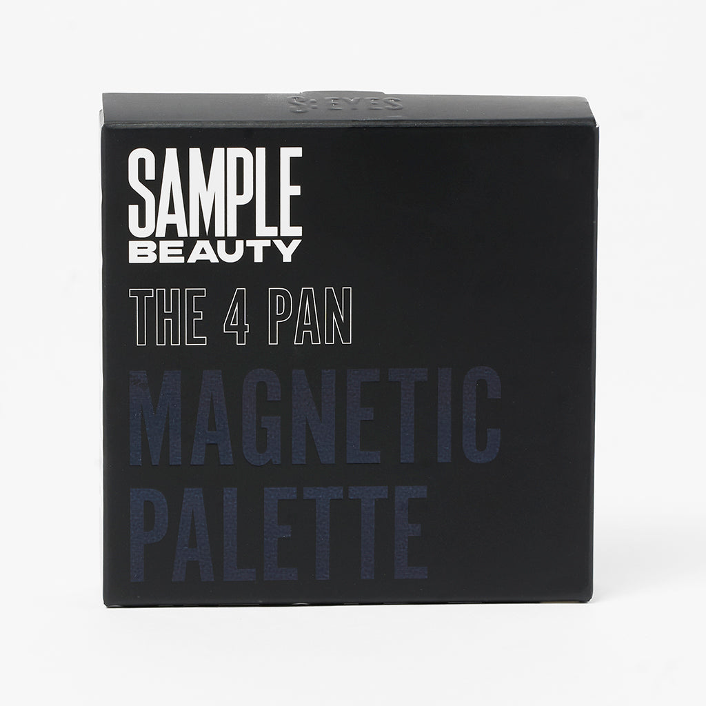 The 4 Pan Magnetic Palette - Sample Beauty
