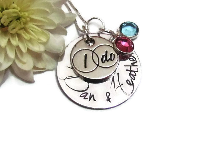 I DO - Brides Necklace