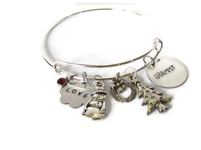 Mom or Grammy Holiday Bracelet