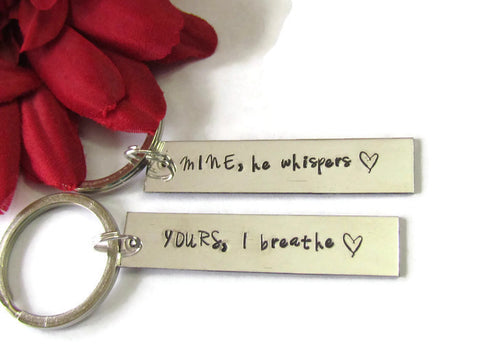 Couples Keychains Set of 2