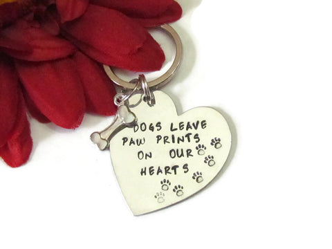 Dog Remembrance Key Chain