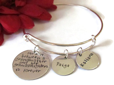 Grandmother Bracelet - Personalized