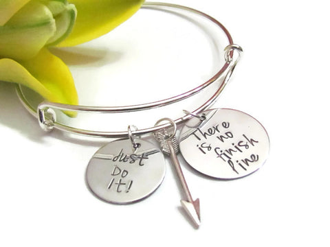 There is no finish line - Bracelet