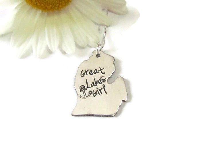 Great Lakes Girl - Michigan Necklace