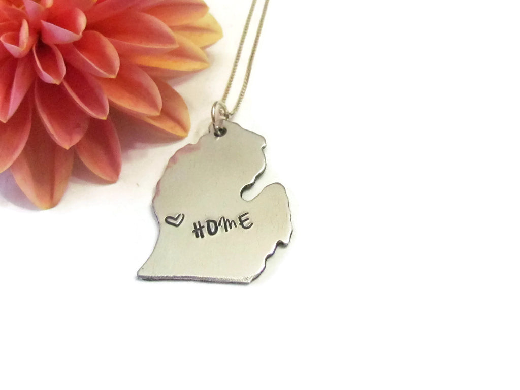 Lower Michigan Necklace - HOME