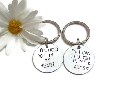 LOVE QUOTE Key chain - SET
