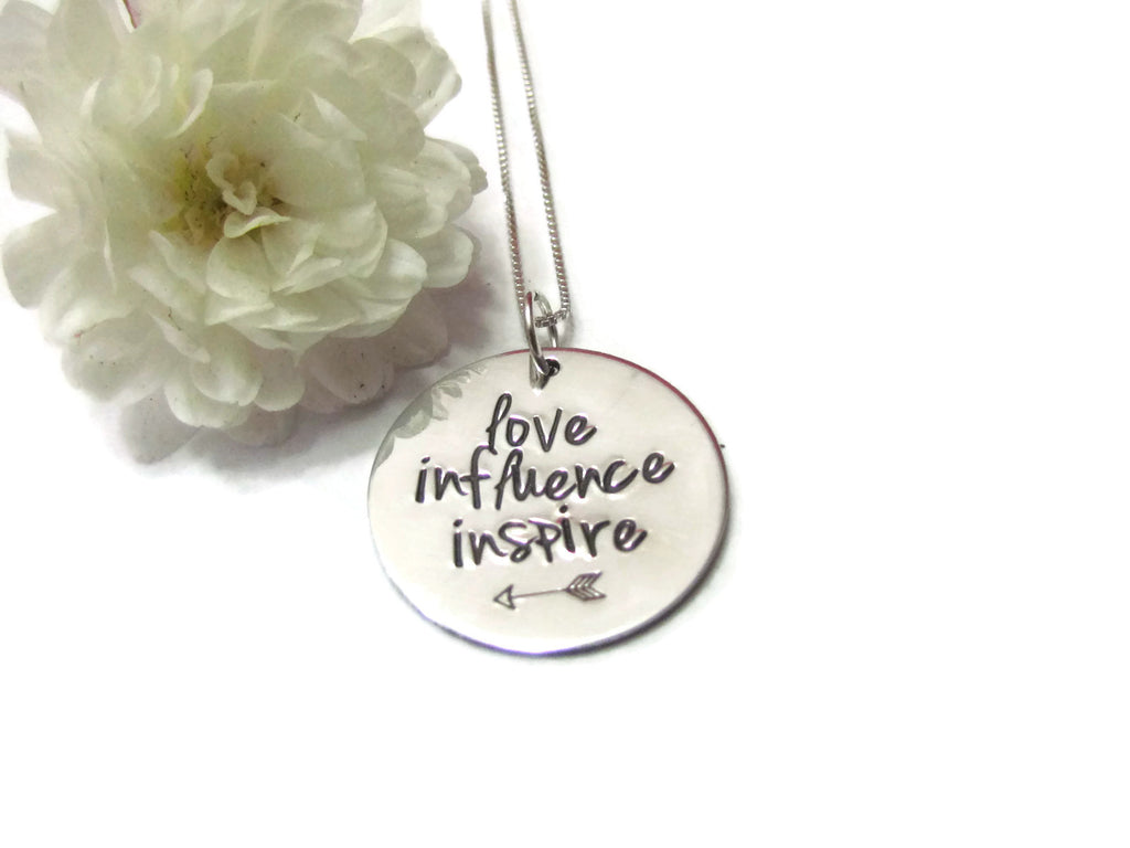 Teacher Necklace - Inspire