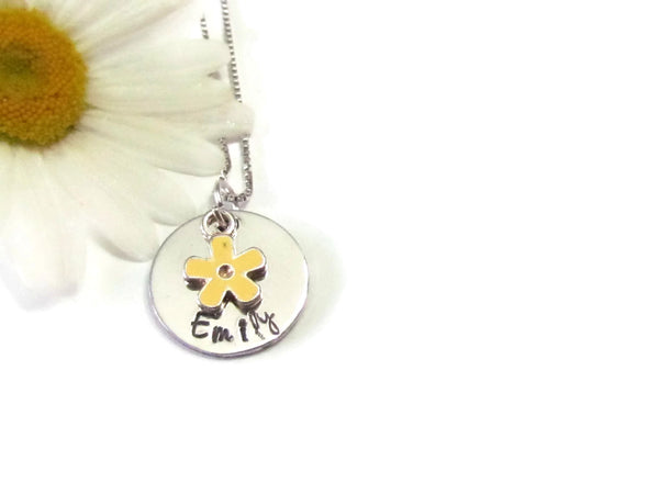 Little Girls Necklace - Personalized