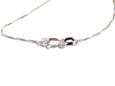 Replacement Sterling Silver chain, 20""