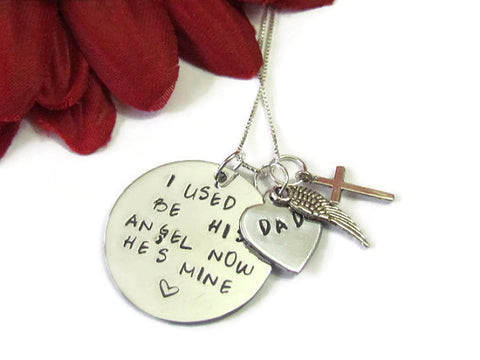 Dad Remembrance Necklace