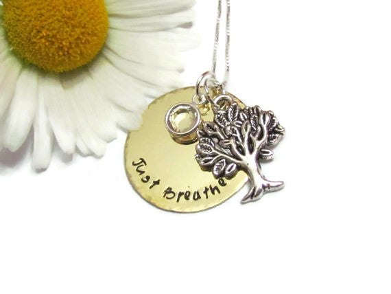 Family Tree Necklace - Just Breathe