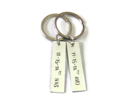 LOVE Keychains - Remember the Date