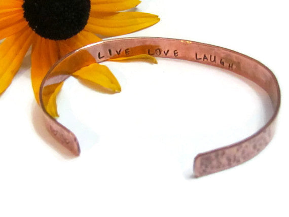 LIVE LOVE LAUGH Bracelet