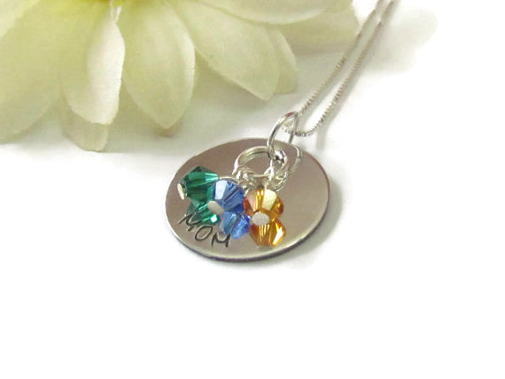 Mom Little Gems Necklace