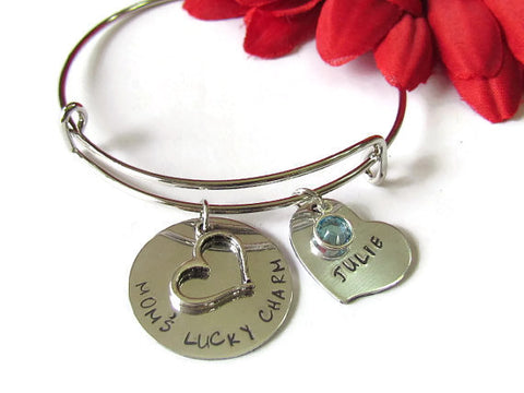 Lucky Charm Bangle for Mom's