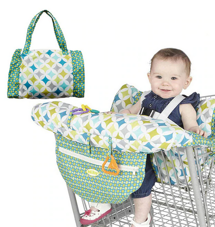 Shopping Cart Cover with  Built-in Harness System - 8 Styles