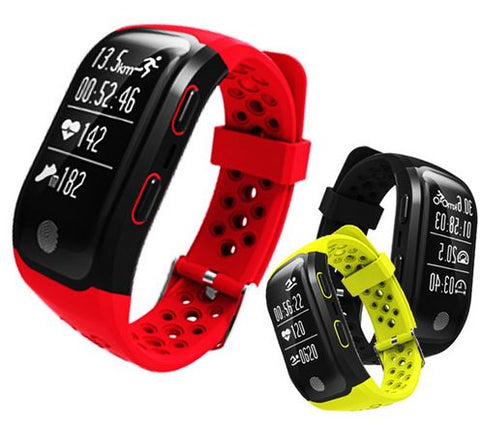 Smartwatch with Heart Rate Monitor and GPS